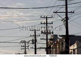 wires telephone lines